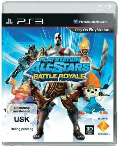 Playstation ALL-STARS Battle Royale PS3 + PSVita