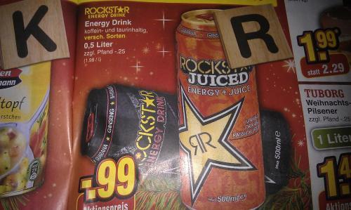 Rockstar Energy Drink ab Montag bei Netto Marken Discount
