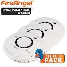 Rauchmelder FireAngel ST-620 Triple-Pack bei iBOOD