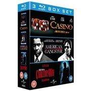(UK) Casino / American Gangster / Carlito's Way [3 xBlu-ray] für 14.49 € @ Play