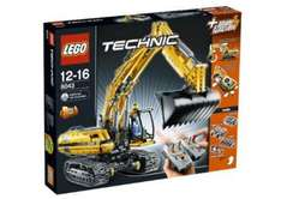 [offline][lokal]Lego Technik 8043 Motorisierter Raupenbagger bei Galeria-Kaufhof Nürnberg