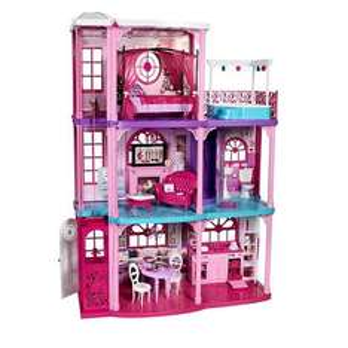 Barbie - 3-Stöckige Traumvilla für 149,98 € bei toysrus?