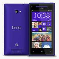 HTC 8X Windows Phone California Blue