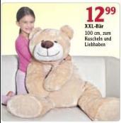 [Lokal Köln?] XXL Teddybär 100cm für 12,99 € - offline @ Globus