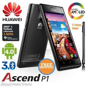 iBood: Huawei Ascend P1 für € 299,95