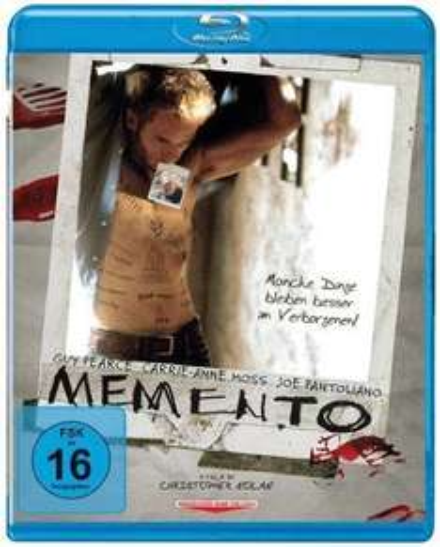 Memento [Blu-ray] für 6,99€ inkl. Versand @Amazon