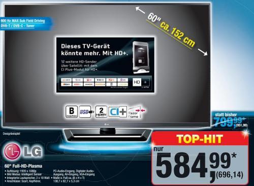 LG 60PA5500 60 Zoll Plasma [Metro]