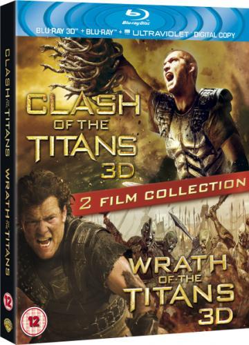 Blu-Ray - Kampf der Titanen 3D & Zorn der Titanen 3D (4 Discs) für €17,24 [@Zavvi.com]