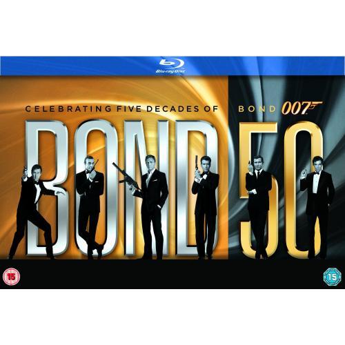 [amazon.co.uk] James Bond - 22 Film Collection [Blu-ray]