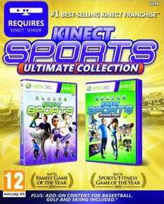 (UK) Kinect Sports Ultimate Double Pack - Season 1 & 2 [2 Disks) für 24.65€ @ Zavvi