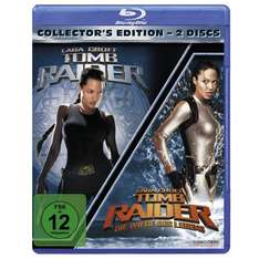 [Amazon] [Blu-Ray] Tomb Raider 1 & 2 (Collector's Edition)