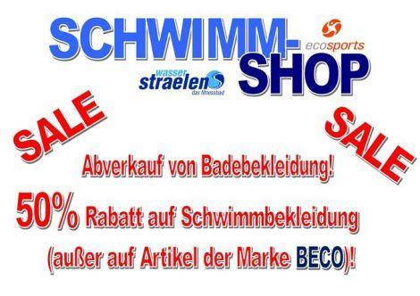 """[Lokal Straelen] 50% auf Badebekleidung (außer BECO-Artikel) im Schwimmbad """"wasserstraelen"""""""