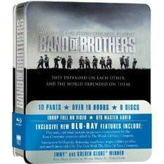 Band of Brothers - Metallbox [Amazon.co.uk] [Blu-ray] ENGLISCH £16,85+VSK
