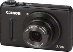 amazon WHD: Canon Powershot S100 Digitalkamera für 256,80 EUR (sehr gut) - Idealo = 339,- EUR