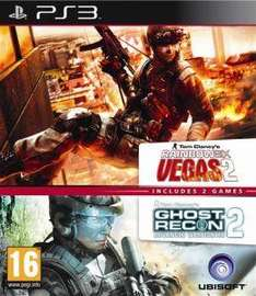 (UK)  Ubi Soft Double Pack - Rainbow Six: Vegas 2 und Ghost Recon Advanced Warfighter 2  [PS3]für ca. 12.31€ @ Zavvi