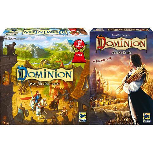 Dominion - (Spiel & 4.Erweiterung), 26,99 lokal oder 31,95 online bei Karstadt. Idealo 39,95.