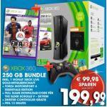 Xbox 360 250 GB + 2 Controller + Fifa 13 & 2 andere Spiele+ 1 Monat Xbox Live Mitgliedschaft für NUR 199,99 € - Nur in Österreich!!