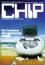 Allererste CHIP-Ausgabe 09/1978 als pdf
