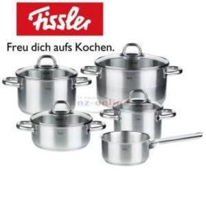 Fissler Topfset KORFU 5-teilig 18/10 BERLIN Spandau - Küchen Aktuell