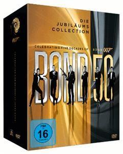 James Bond – Bond 50: Die Jubiläums Box 22 DVDs Für 81€