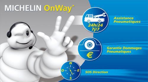 GRATIS Reifenversicherung, Pannenhilfe & Assitance Service für neu gekaufte Michelin Reifen