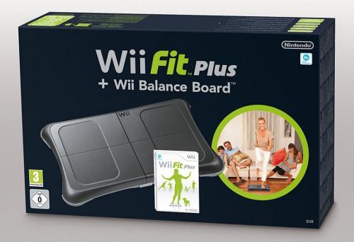 (UK) Wii Balance Board mit Wii Fit Plus schwarz für umgerechnet ca. 56.54 @ Amazon.UK