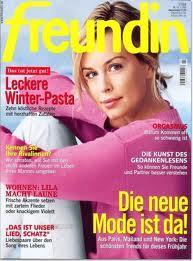 """8 Ausgaben """"Freundin"""" + 15 Euro Amazon Gutschein"""