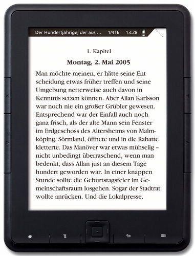 Günstiger eBook-Reader mit E-Ink Display [buecher.de]