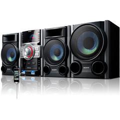 Generalüberholt: Sony MHCGTZ3I.CEL.A 400-W-Mini-Anlage, Dual-USB, CD, UKW/MW