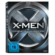 X-Men - Complete Collection (alle 5 Filme inkl. X-Men: Erste Entscheidung) [Blu-ray] [amazon]