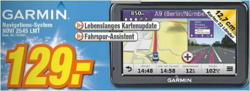 (Lokal Mössingen expert) Garmin Nüvi 2545 LMT mit 3D-Traffic + lebenslange Kartenupdates