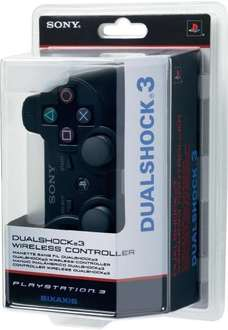 PS3 Dualshock Wireless Controller für 32,34€ @Digitalo