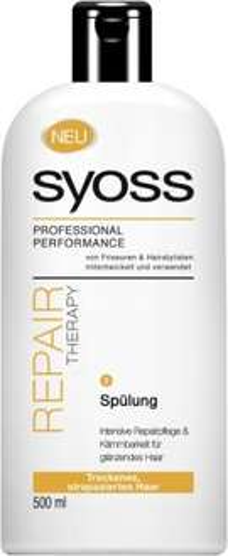 7x 500ml Syoss Spülung ( Repair / Shine Boost ) für 7x 0,99 = 6,93 Euro inkl Versand