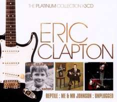 "CD - Eric Clapton ""Platinum Collection"" (3 CDs) für €5,99 [@WowHD.de]"