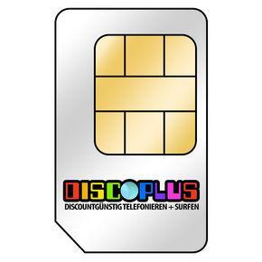 discoPlus All-In 10 im D-Netz 24 Monate ohne Grundgebühr für 9,95€
