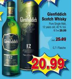 [Offline] Kaufpark - Glenfiddich 12 years Highland Single Malt Scotch 20.99