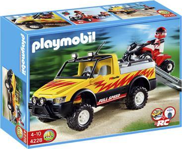 PLAYMOBIL Pick-Up mit Racing Quad bei Karstadt/Karstadt.de ab 05.12.12 für 10€.