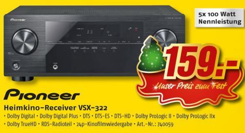 Pioneer VSX-322 5.1 Receiver @MediMax Offline