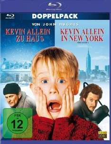 [Blu-ray] Kevin - Allein zu Haus / Allein in New York nur 8,97 € inkl. Versand @Amazon