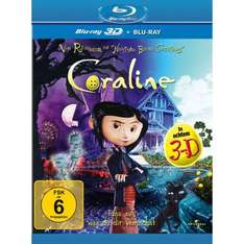 Coraline (+ Blu-ray) [Blu-ray 3D] für 11,97  € @AMAZON.DE