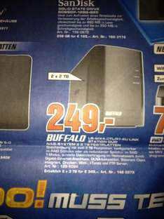 Buffalo Linkstation 4TB NAS !!! 249€