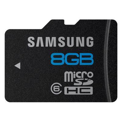 Samsung Micro SDHC 8 GB Classe 6 für 5 €