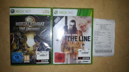[lokal Saturn]  Mortal Kombat vs. DC 9,99 Euro & Spec Ops 15 Euro + (Xbox 360)