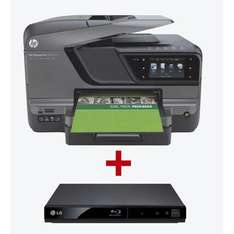 HP officejet 8600 Plus + LG BP125  im Bundel