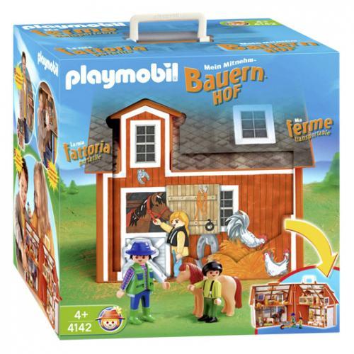 """[Lokal Real] Playmobilangebote u.a  """"Mein Mitnehm-Bauernhof"""" statt 56,99 nur 26,96€ am 8.12."""