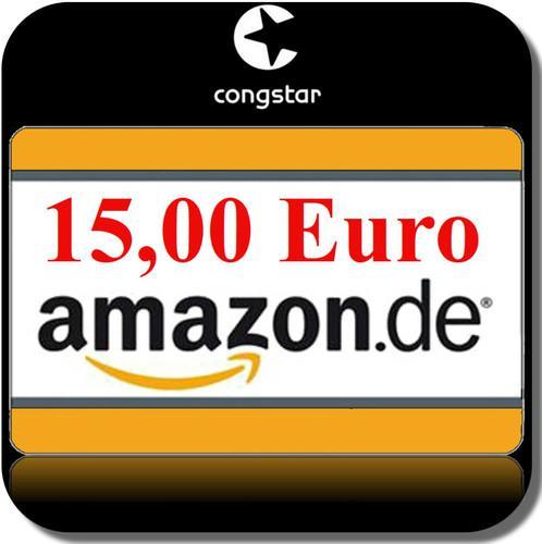 congstar Prepaid Simkarte inkl. 10€ Startguthaben + (z.B.) 15€ Amazon Gutschein für 9,99€