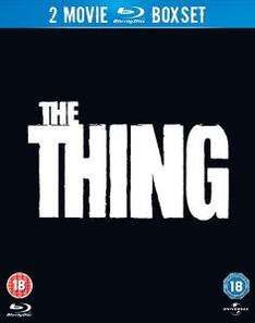 (UK) The Thing (1982) / The Thing (2011) Double Feature[Blu-Ray] für umgerechnet ca. 8.57€ @ ZAvvi