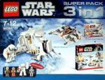 Lego Star Wars Superpack 3 in 1 (66366) mit 13 Figuren @ real online