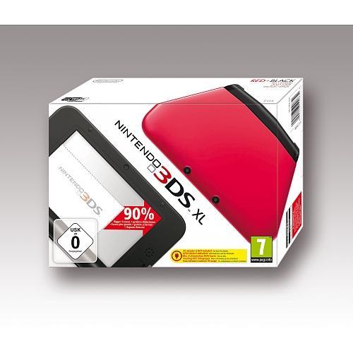 Toys 'R' Us Webshop: Nintendo 3DS XL - Konsole, rot/schwarz für € 177,-