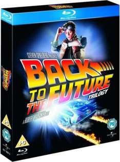 (UK) Back to the Future Trilogy für umgerechnet etwa 12,27€ @ Zavvi